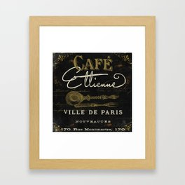 La Cuisine II Framed Art Print