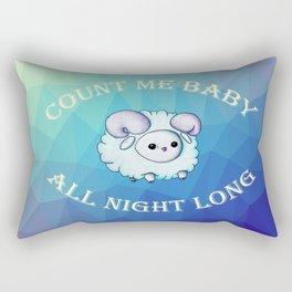 Count me baby Rectangular Pillow