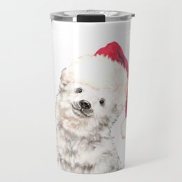 Christmas Baby Polar Bear Travel Mug