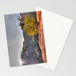 Red Rock Tree Stationery Cards