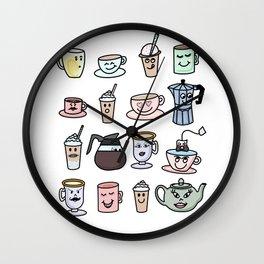 Cafe Friends Wall Clock