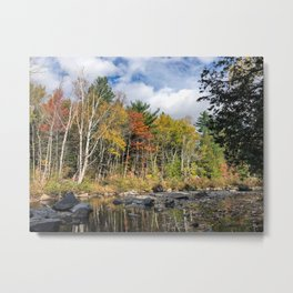 Fall on the Carrabassett (2) Metal Print