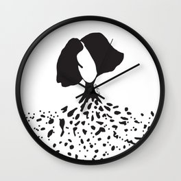 exploded soul Wall Clock