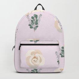 Light Purple Eucalyptus Rose  Backpack