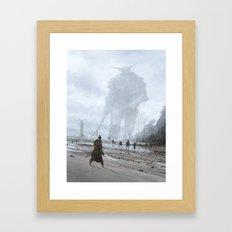 stranger in a strange land Framed Art Print