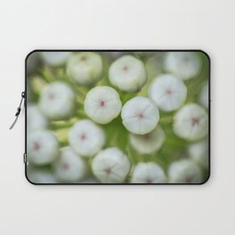 Wht-flowered Milkweed Laptop Sleeve