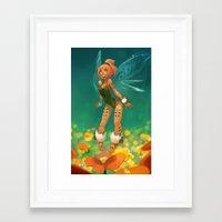 elf Framed Art Prints featuring Elf by xaxaxa