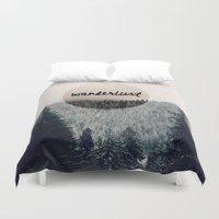 wanderlust Duvet Covers featuring Wanderlust by RDelean