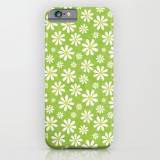 DAISIES ON APPLE GREEN Slim Case iPhone 6
