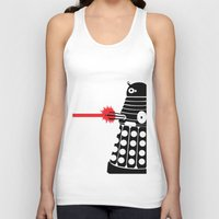 mad men Tank Tops featuring Dalek, Mad Men Style by Mosobot64