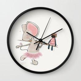 Little Mouse - Ballerina Wall Clock