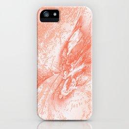 Splatter in Guava iPhone Case