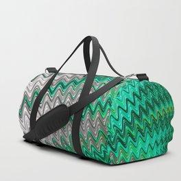 Emerald and Pearl Duffle Bag