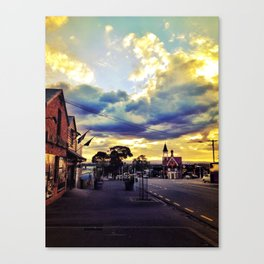 Williamson Avenue Ponsonby Auckland New Zealand Canvas Print