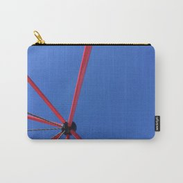 Red Against The Blue Sky Carry-All Pouch
