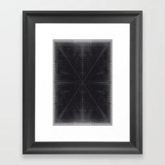 X 2 Framed Art Print