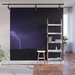 Lightning Strikes - II Wall Mural