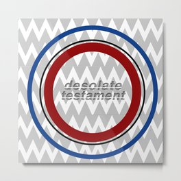 Desolate Patriotism Metal Print