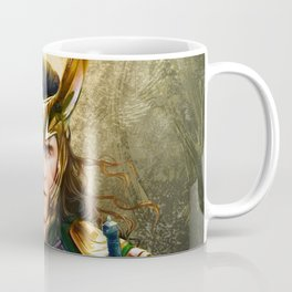 Loki- Golden Sunburst Coffee Mug