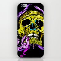 gore iPhone & iPod Skins featuring SKULL-GORE by scarecrowoven