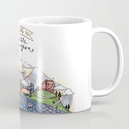 We Belong in Seattle Coffee Mug