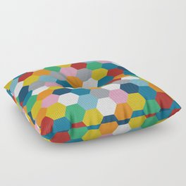 Honeycomb 3 Floor Pillow