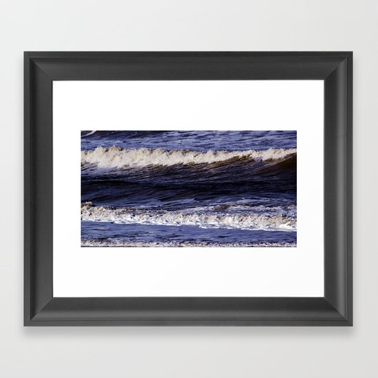 To the sea, to the sea... Framed Art Print