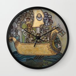 THE ARK OF LIFE JOURNEY Wall Clock