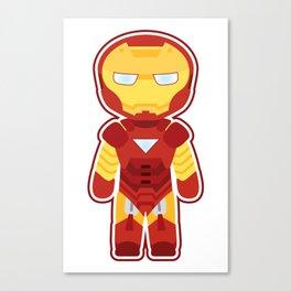 Chibi Iron Man Canvas Print