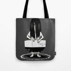 Tv Ring Tote Bag