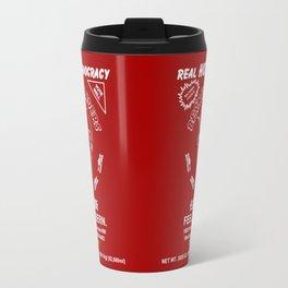 Bernie Sanders Sriracha Style Feel The Bern Travel Mug