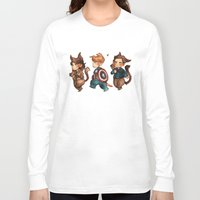 onward Long Sleeve T-shirts featuring onward to adventure! by noCek