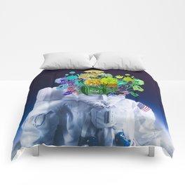 Space's flower Comforters