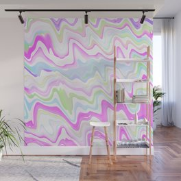 Delicate Marbled Watercolor Wall Mural