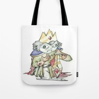 knight Tote Bags featuring knight by Christofferson