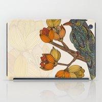 valentina iPad Cases featuring Bravebird by Valentina Harper