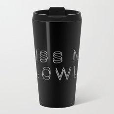 KISSME Metal Travel Mug