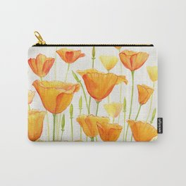 Blossom Poppies Carry-All Pouch