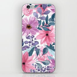 FLOWERS XII iPhone Skin