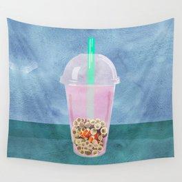Clownfish Tea by Kenzie McFeely Wall Tapestry