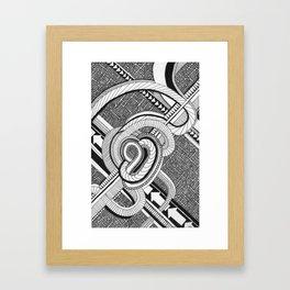 Interchange Framed Art Print