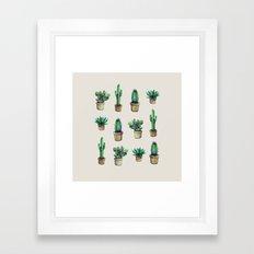 cactus original Framed Art Print