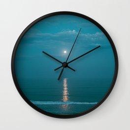 Tamarack Beach Wall Clock