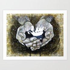 Buoyancy Art Print