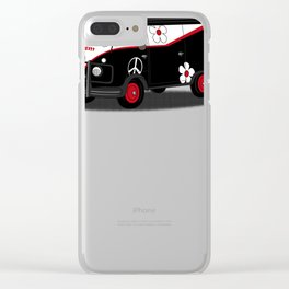 peace team Clear iPhone Case