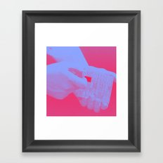 Fil The Gap Framed Art Print
