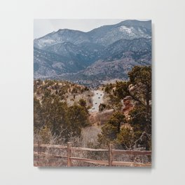 Head For the Hills Metal Print