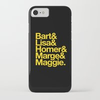 simpsons iPhone & iPod Cases featuring Simpsons by Outside In