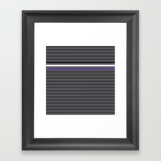 Stripes II Framed Art Print