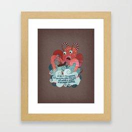 The tale of Neu (verse 17) Framed Art Print